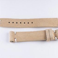 Mocka & Läder Armband Beige