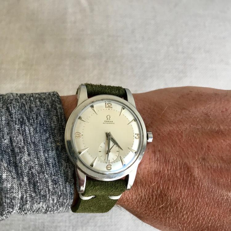 Mocka/Läder Grön