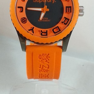 Superdry klocka  - Orange