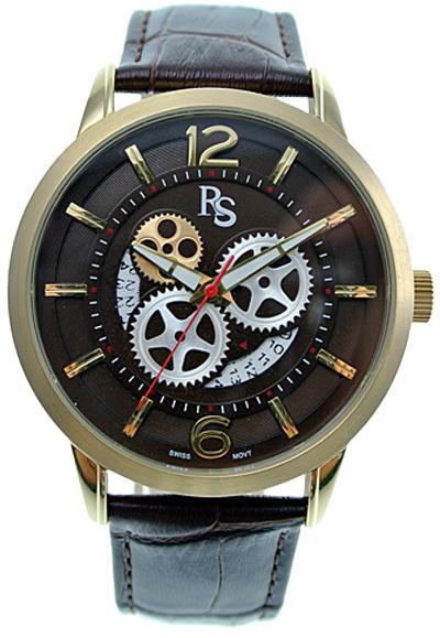Rosaric Magic Power Schweiziska ur med datum  - Svart/Guld