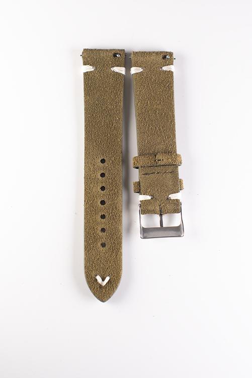 Mocka/Läder Ljusgrön/Mossgrön