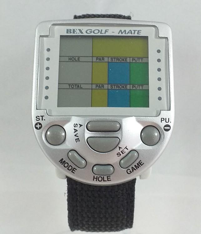 Golfklocka med NATO armband för 18 håls-bana