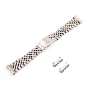 Jubileelänk silver / rostfritt stål 19mm 20mm 22mm