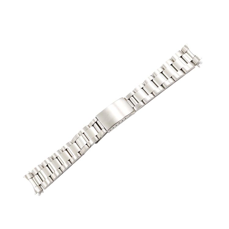 Oysterlänk silver / rostfritt stål 19mm 20mm