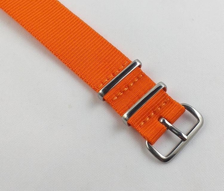 NATO-armband - Orange 18 mm 20 mm 22 mm 24 mm
