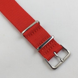 NATO-armband Red 18 mm 20 mm 22 mm 24 mm
