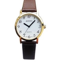 Vardagsklocka från Aveny - Herr modell - 36 mm