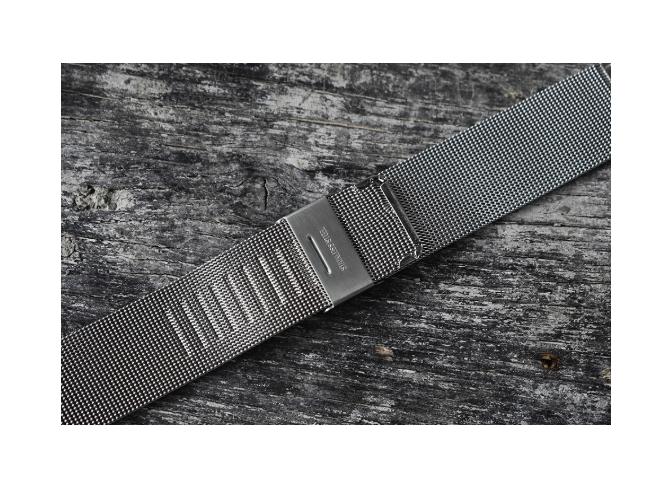 Mesh - Milanese klocklänk Rostfritt stål - 18mm 20mm 22mm