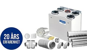 FTX-Paket - Ventilationsexpressen