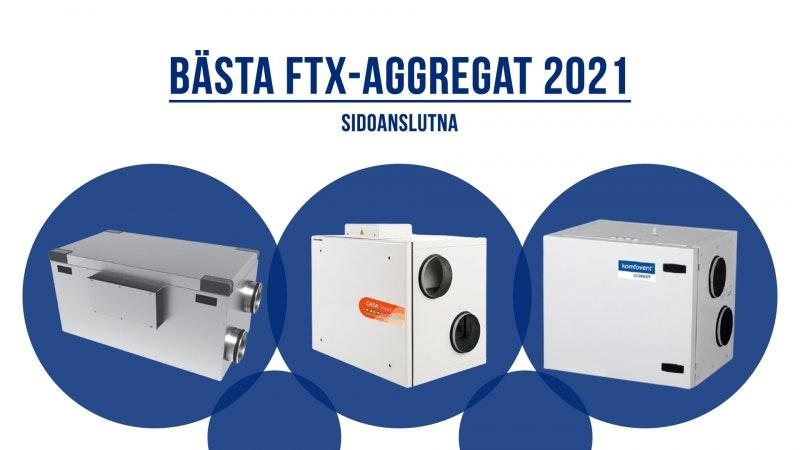 Bästa Sidoanslutna FTX-Aggregat 2021