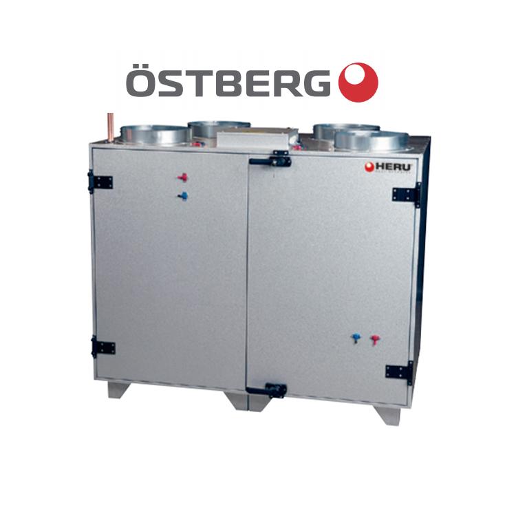 Östberg HERU 600 T EC Vattenbatteri