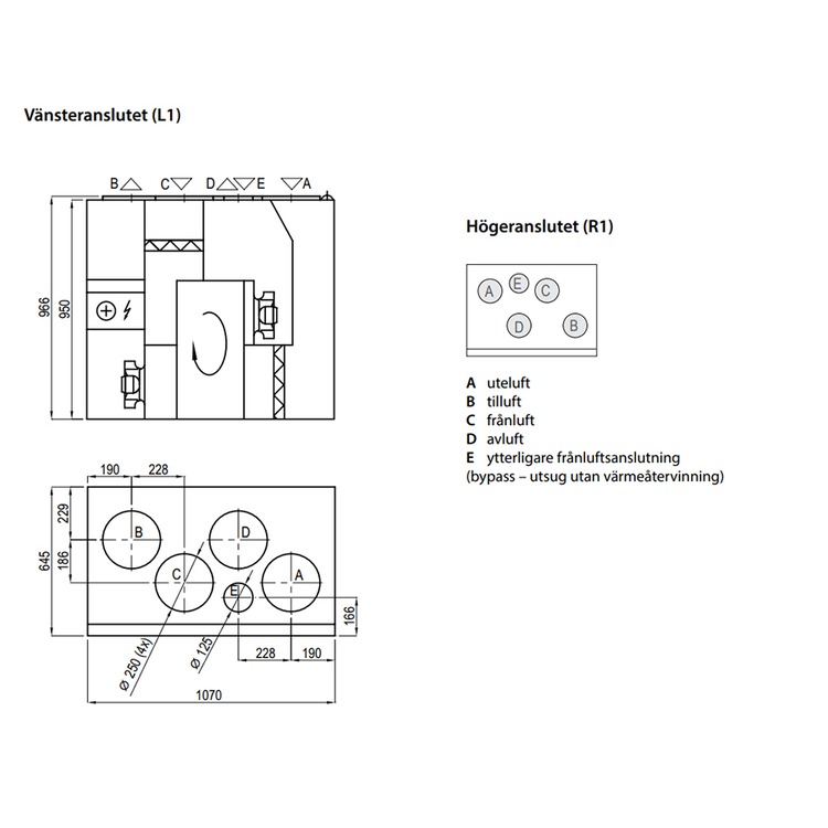 Komfovent Domekt R 700 VE -550m2