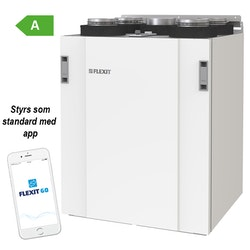 Flexit Nordic S2 EC - 165m²