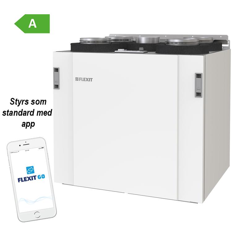 Flexit Nordic S4 EC - 245m²