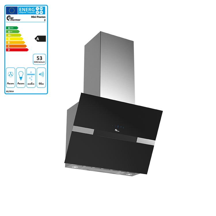 Thermex - Mini Preston 2 - Svart Vertikalfläkt