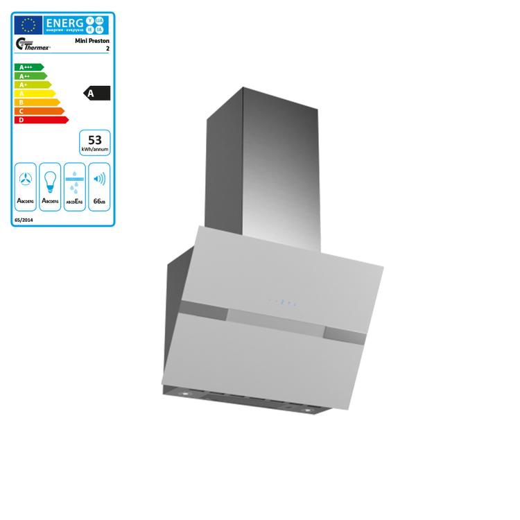 Thermex - Mini Preston 2 - Vit Vertikalfläkt
