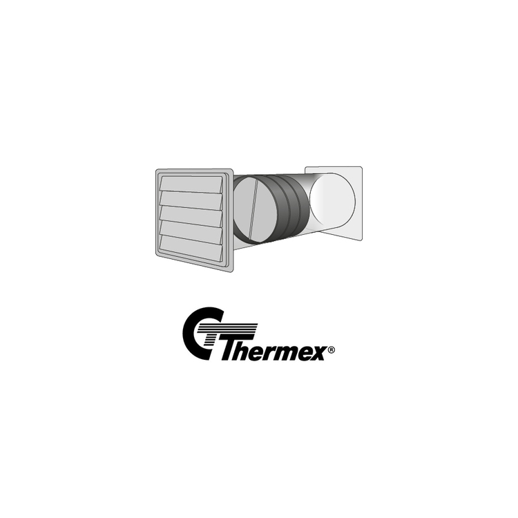 Thermex slammerfritt spjäll