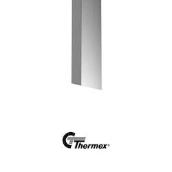 Thermex Mini Preston 2 Silver skorsten 2M