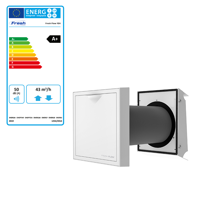 Ventilationsaggregat Fresh Flow FDX