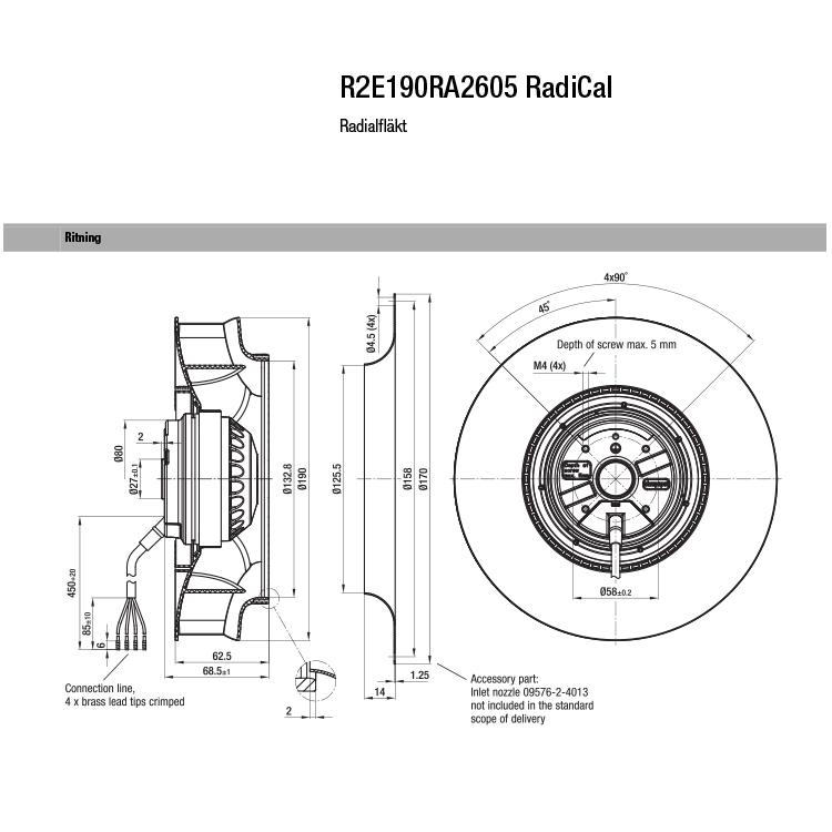 R2E190RA2605 Radical
