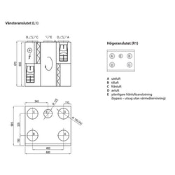 Komfovent Domekt R 450 VE -350m2