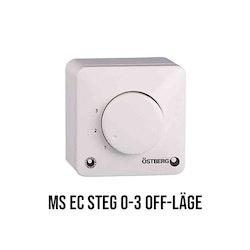 Potentiometer MS EC Östberg Steg 0-3 Off-läge