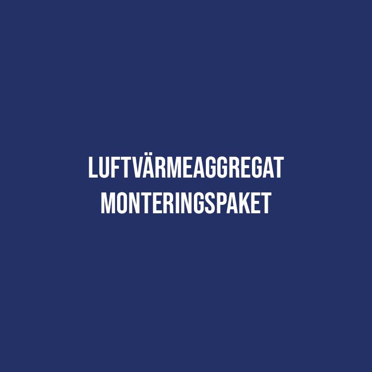 Luftvärmeaggregat Monteringspaket