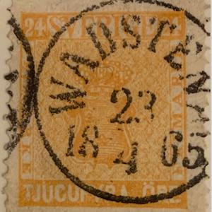 F10d 23/4 1865 Wadstena