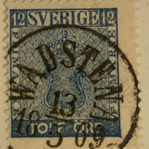 F9 13/5/1869 Wadstena Prakt