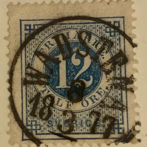 F21 18/3/1877 Wadstena Prakt/Lyx