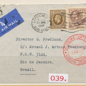 Deutsche Luftpost - Südamerika