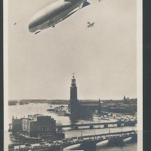 Stockholm (Zeppelinaren som aldrig kom på besök)