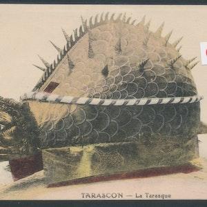 Tarascon - myten - kort från Frankrike till Sverige