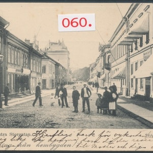 Östra storgatan Jönköping 1909