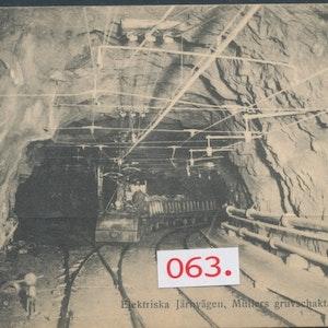 Grängesberg, elektrisk järnväg