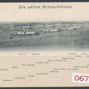 Tyska flottan Kiel 1906