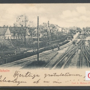 Hessleholm järnvägsstation (plundrat, inget f-mrke)