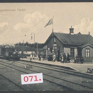 Färlöf järnvägsstation