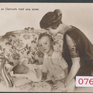 Prinsessan Axel av Danmark med söner