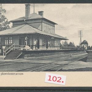 Dufnäs järnvägsstation