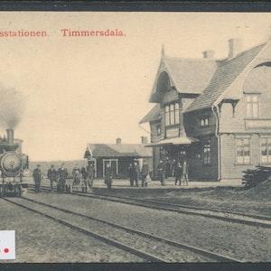 Timmersdala järnvägsstation (Skövde)