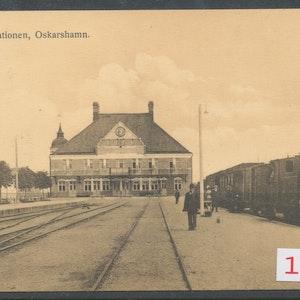 Oskarshamn järnvägsstation