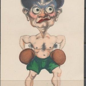 Boxare med rörliga ögon