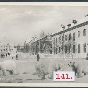 Skellefteå Isbjörnar på Stationsgatan