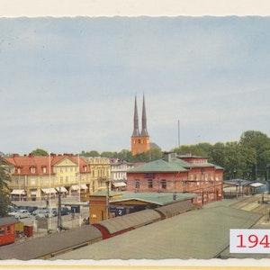 Järnvägsstationen Växjö