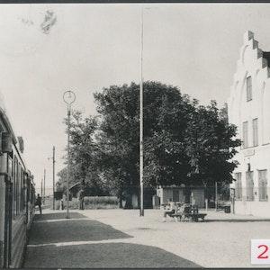 Järnvägsstationen i Falsterbo