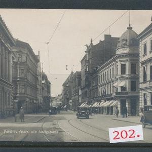 Malmö Öster- och Adelgatorna