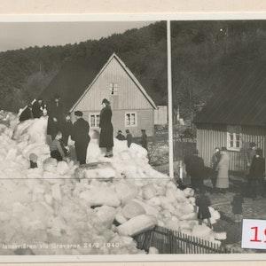 Isbarriären 1940 i Helsingborg