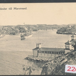 Drott anländer Marstrand