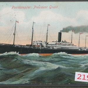 Ångfartyget President Grant